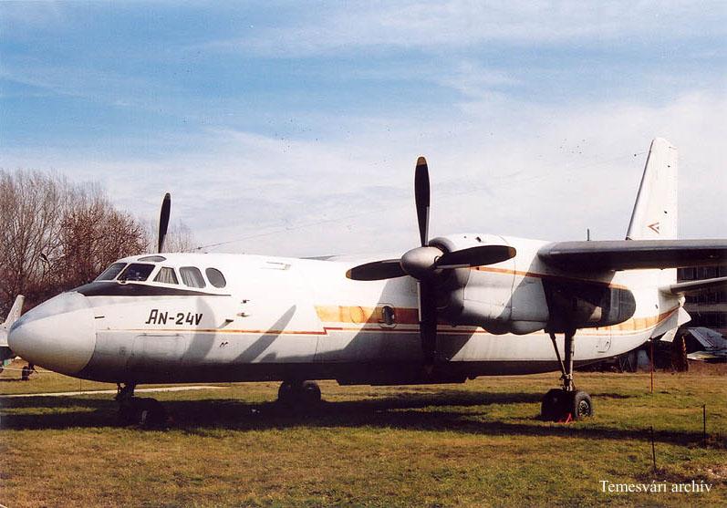 安-24是前苏联安东诺夫设计局研制的双发涡轮螺桨